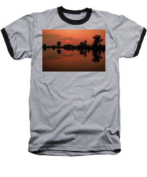 St. Vrain Sunset Baseball T-Shirt