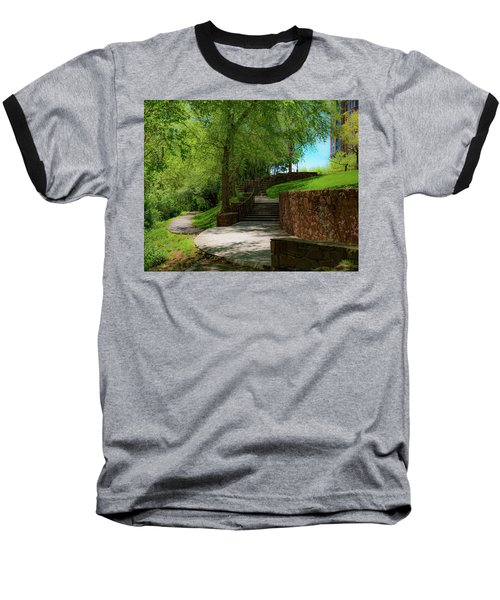 Stairway To Carlyle Baseball T-Shirt