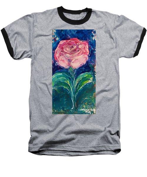 Standing Rose Baseball T-Shirt