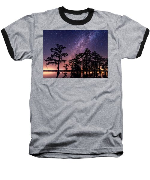Baseball T-Shirt featuring the photograph Star Bright by Andy Crawford
