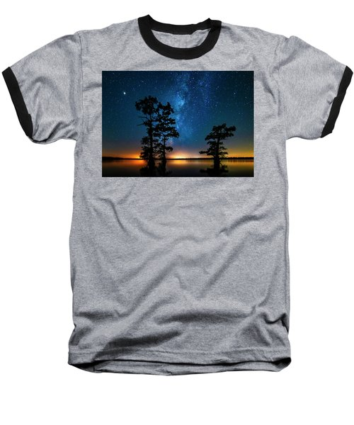 Baseball T-Shirt featuring the photograph Star Gazers by Andy Crawford