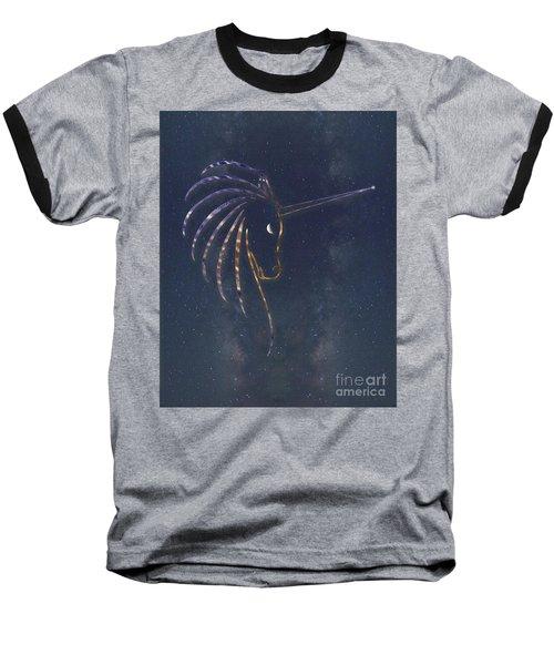 Star Unicorn Baseball T-Shirt