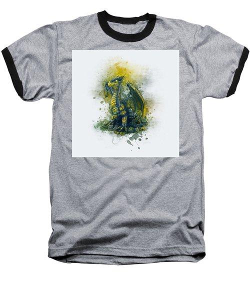 Steampunk Dragon Baseball T-Shirt