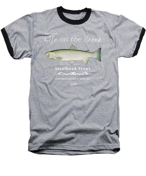Steelhead Trout Baseball T-Shirt