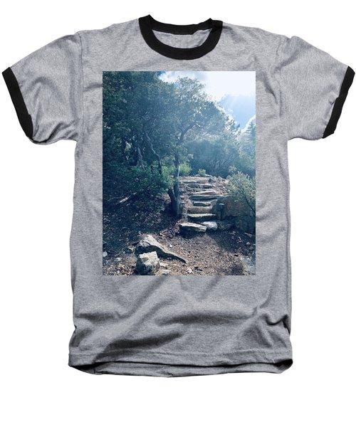 Steps To Enlightenment  Baseball T-Shirt