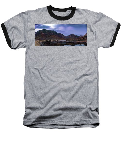 Stone Bridge On Lofoten Islands  Baseball T-Shirt