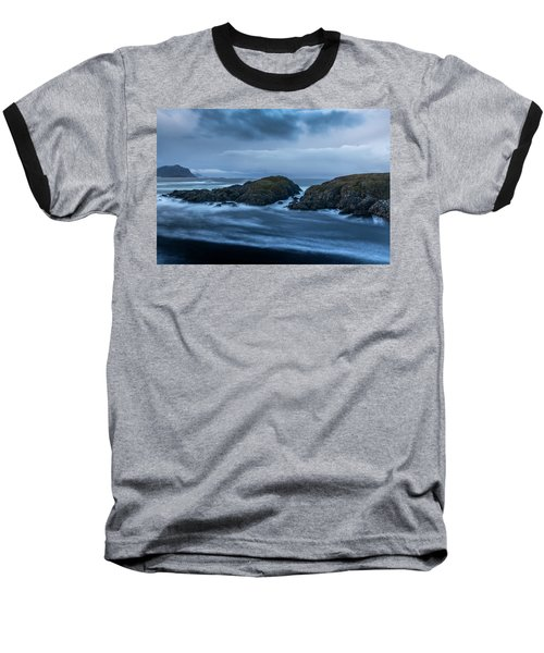Storm At The Sea Baseball T-Shirt