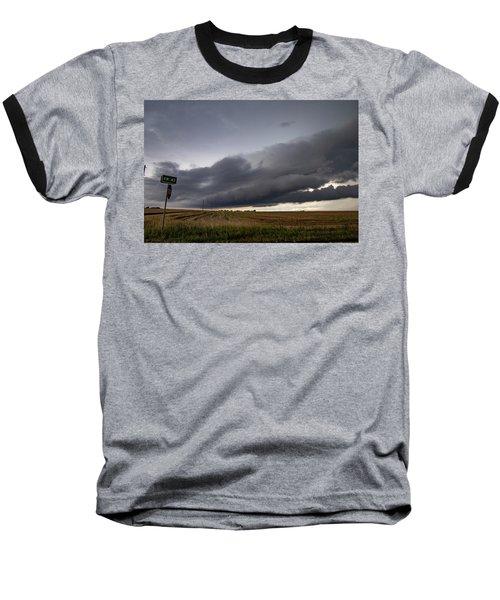Storm Chasin In Nader Alley 004 Baseball T-Shirt