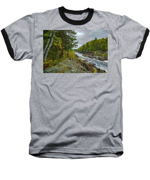 Storm Clouds At Jay Cooke Baseball T-Shirt