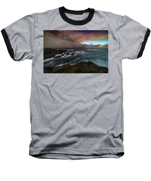 Storm Coastline Baseball T-Shirt