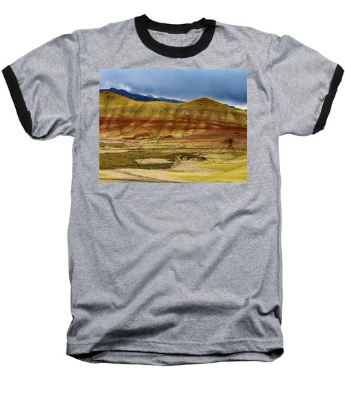 Storm Over Painted Hills Baseball T-Shirt