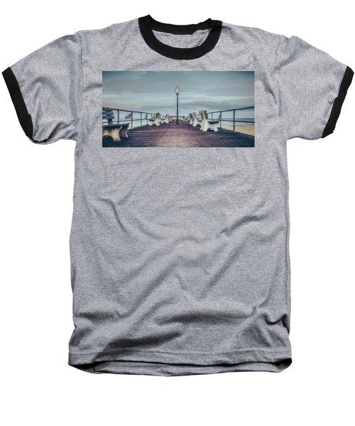 Stormy Boardwalk Baseball T-Shirt
