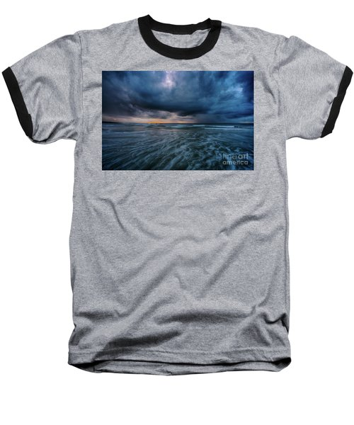 Stormy Morning Baseball T-Shirt