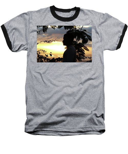 Into The Shadows  Baseball T-Shirt