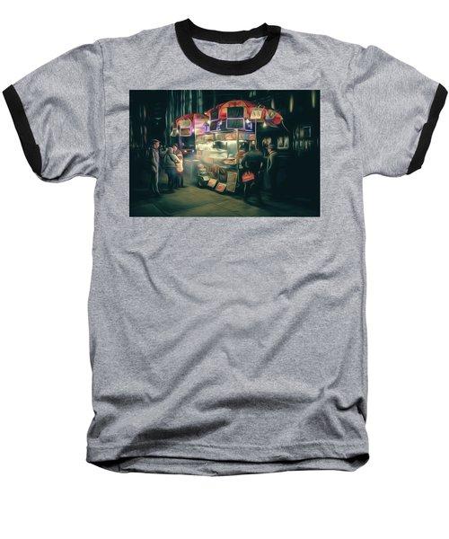 Street Eats Baseball T-Shirt