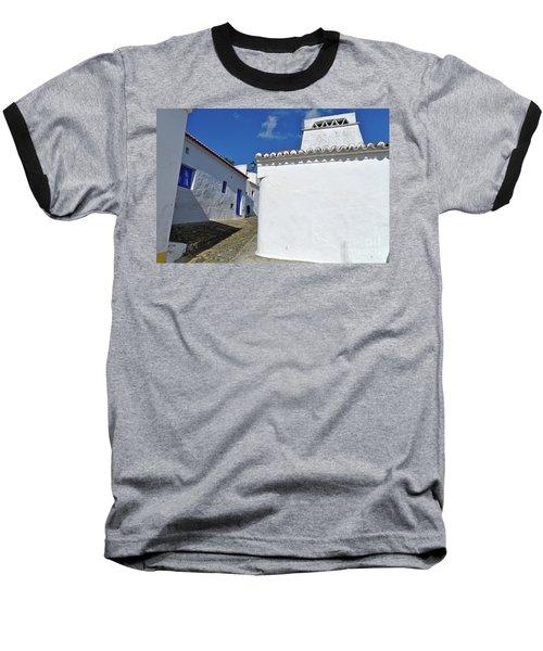 Streets Of A Medieval Castle. Alentejo Baseball T-Shirt