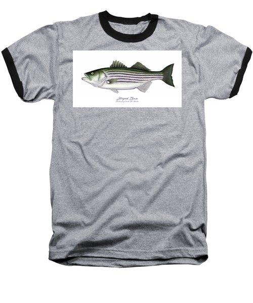 Striped Bass Baseball T-Shirt