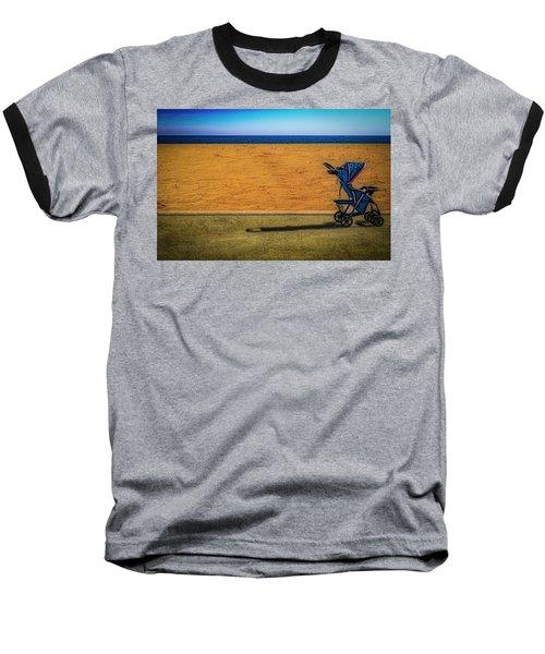 Stroller At The Beach Baseball T-Shirt