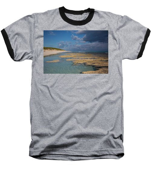 Stromatolites On Stocking Island Baseball T-Shirt