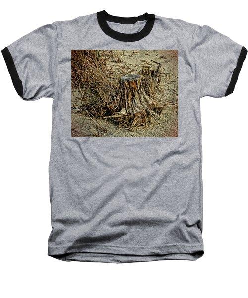 Stump At The Beach Baseball T-Shirt