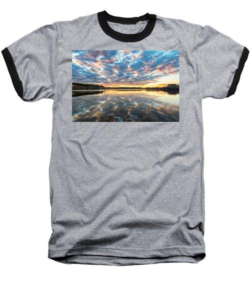 Stumpy Kinda Of Reflection Baseball T-Shirt