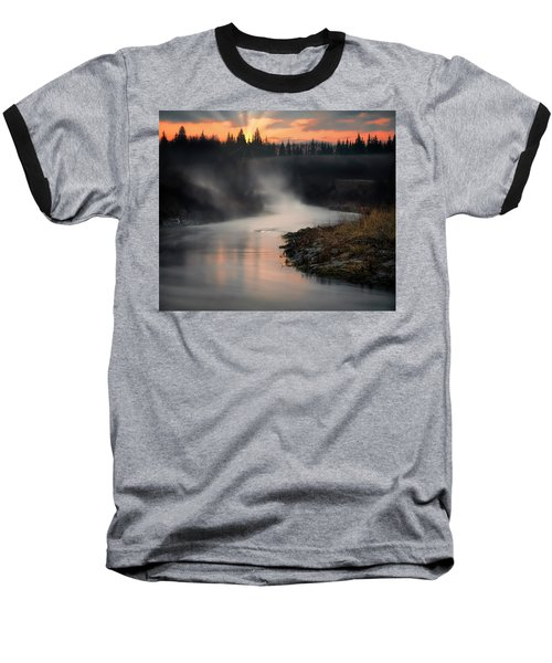 Sturgeon River Morning Baseball T-Shirt