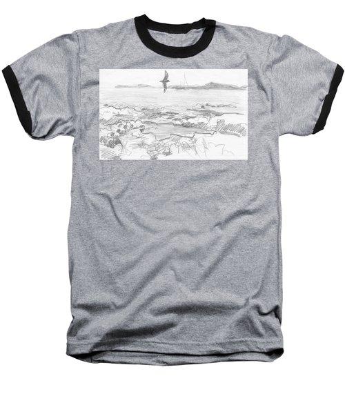 Subantarctic Island Baseball T-Shirt