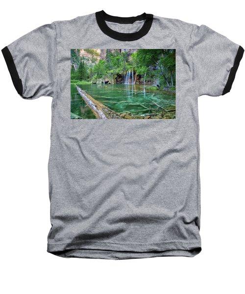 Submerged Log, Hanging Lake Colorado Baseball T-Shirt