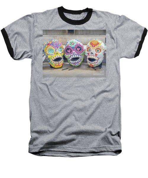 Sugar Skulls Baseball T-Shirt