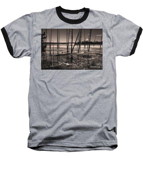 Baseball T-Shirt featuring the photograph Sulfur Field by Mae Wertz