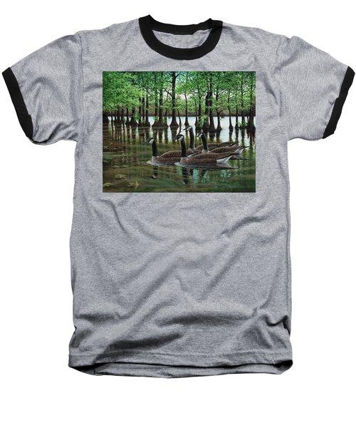 Summer Among The Cypress Baseball T-Shirt