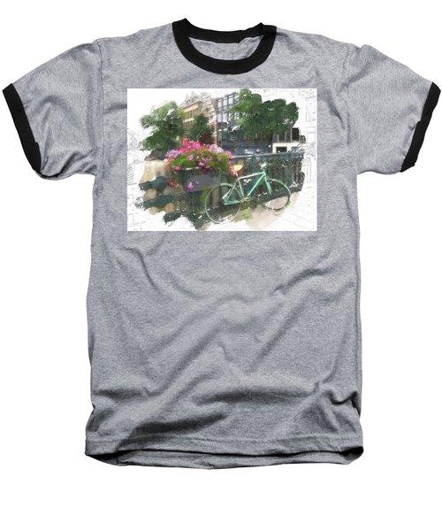 Summer In Amsterdam Baseball T-Shirt