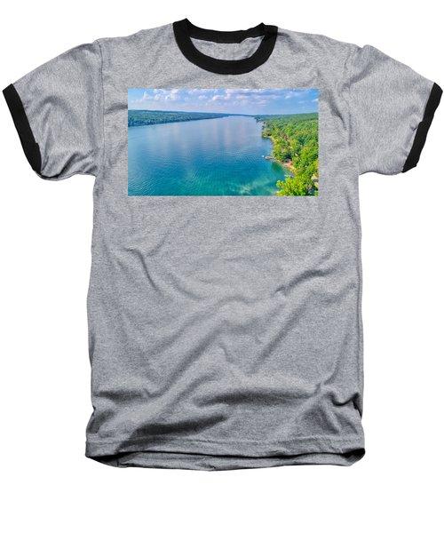 Summer On Keuka Lake Baseball T-Shirt