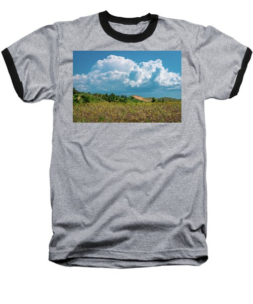 Summer Storm Over The Dunes Baseball T-Shirt