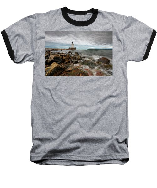 Summer Tides At Bug Light Baseball T-Shirt