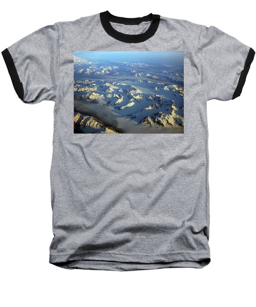 Sun Kissed Glaciers Baseball T-Shirt