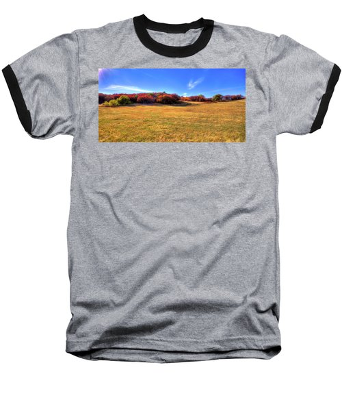 Baseball T-Shirt featuring the photograph Sun On Magpie Forest by David Patterson