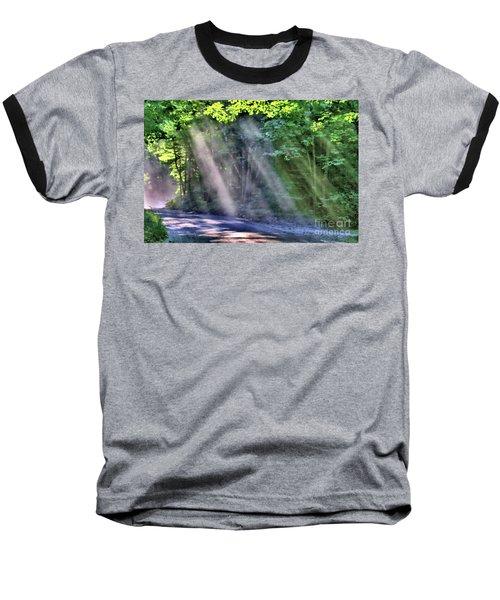 Sun Streaks Baseball T-Shirt