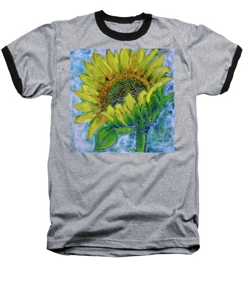 Sunflower Happiness Baseball T-Shirt
