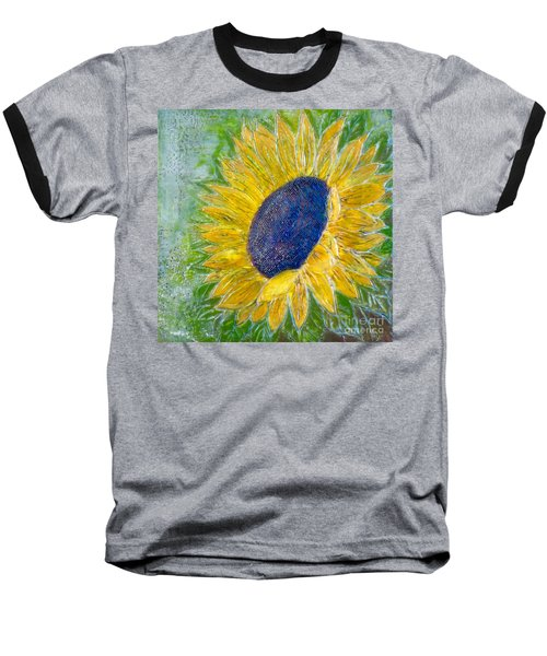 Sunflower Praises Baseball T-Shirt