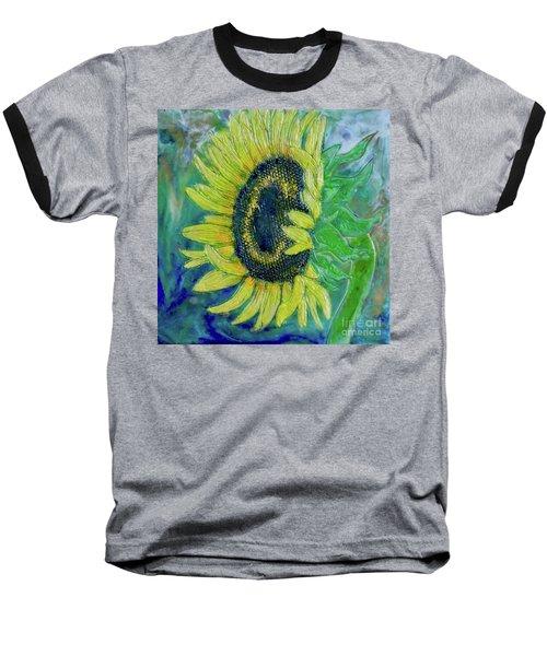 Sunflower Smiles Baseball T-Shirt
