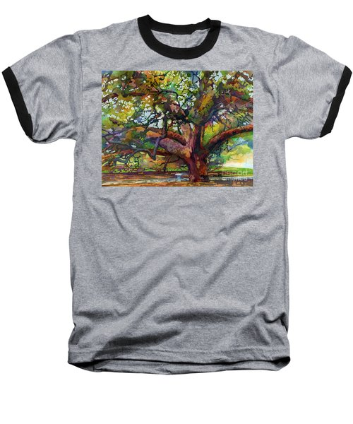 Sunlit Century Tree Baseball T-Shirt