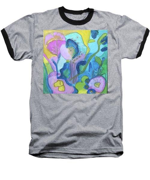 Sunny Day Abstract Baseball T-Shirt