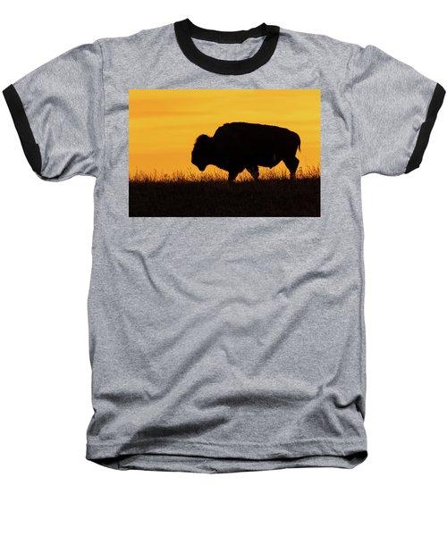 Sunrise Bison Baseball T-Shirt