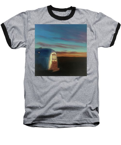 Sunrise Near Amarillo Baseball T-Shirt
