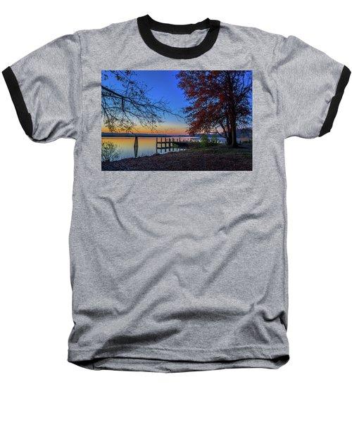 Sunrise On The Patuxent Baseball T-Shirt