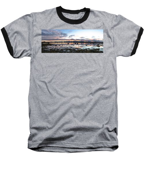 Sunrise Over The Marsh Baseball T-Shirt