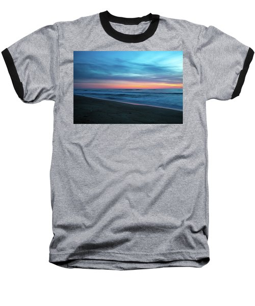 Baseball T-Shirt featuring the photograph Sunrise Over The Outer Banks by Lora J Wilson