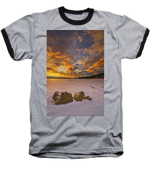 Sunrise Rocks Baseball T-Shirt