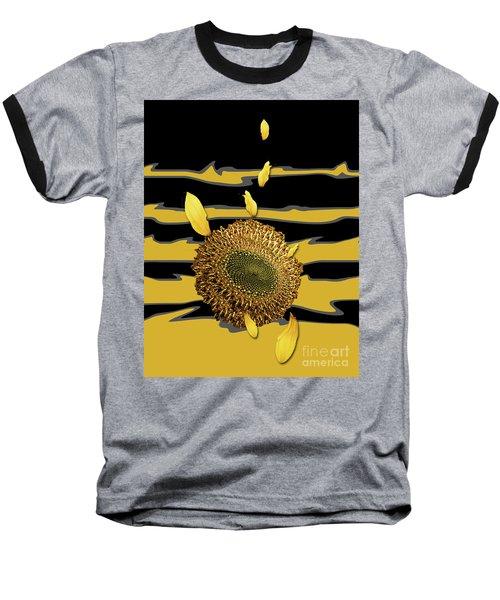 Sun's Flower Baseball T-Shirt